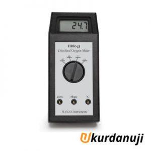 Alat Ukur Dissolved Oxygen Meter HANNA INSTRUMENT HI8043
