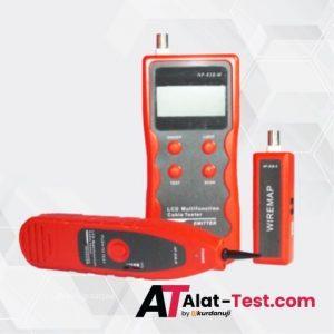 Alat Kabel Tester Multifungsi LCD AMTAST NF-838