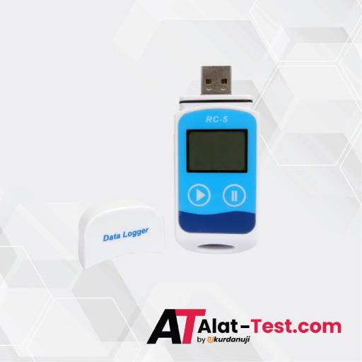 Alat Data Logger USB Suhu AMTAST RC-5+