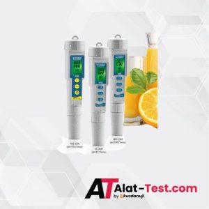 Alat pH EC Suhu Testers AMTAST EC-3587