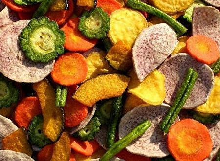 Cara Membuat Sayuran Kering
