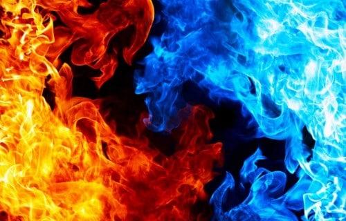 Cara Mengukur Suhu Api