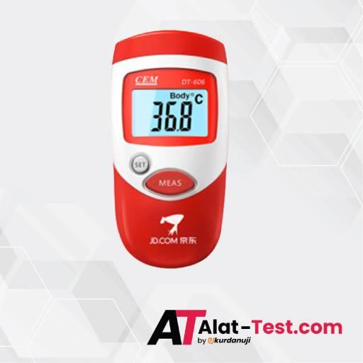 Alat Ukur Suhu Inframerah Mini AMTAST DT606