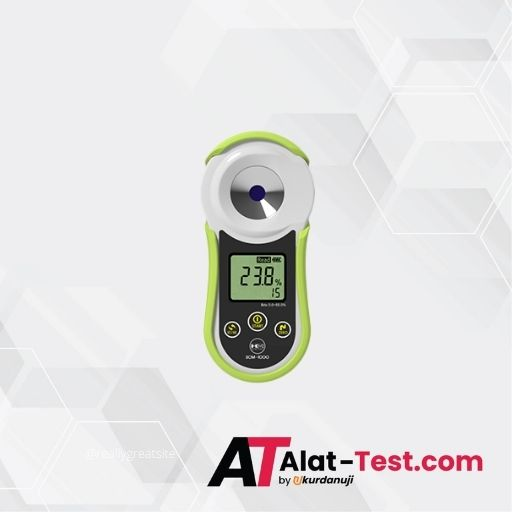 Alat Ukur Refraktometer Brix AMTAST SCM1000